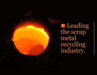 Leading the scrap metal recycling industry.